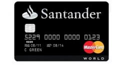 apply for santander credit card