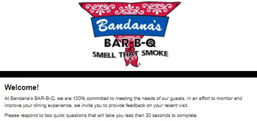www.bandanasbbq.com/survey