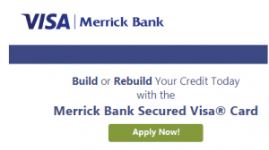 Apply for Merrick Bank Secured Credit Card to Rebuild Credit Score