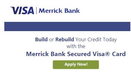 Apply for Merrick Bank Secured Credit Card to Rebuild Credit Score
