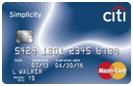 no balance transfer fee credit card Citi Simplicity card