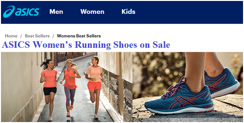 ASICS Ladies Running Shoes Sale