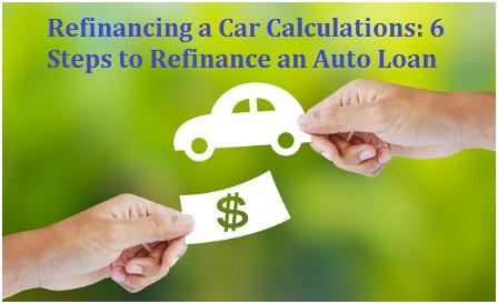 Refinancing a Car Calculation