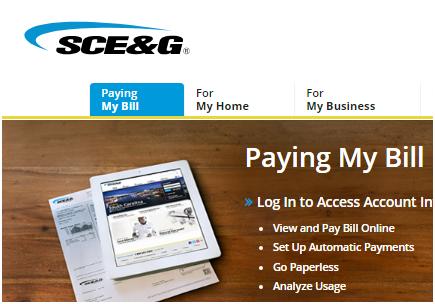 SCEG Login E Bill Pay