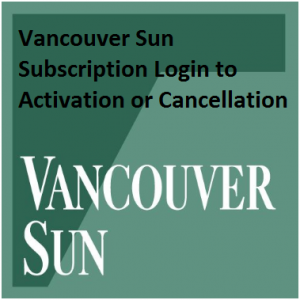 Vancouver Sun Newspaper Subscription Login