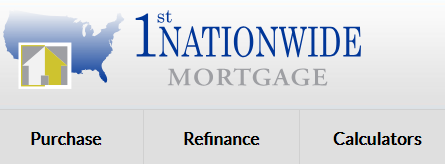 1st nationwide mortgage