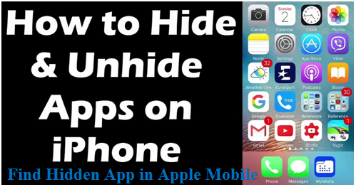 How to hide and unhide apps on iPhone 7