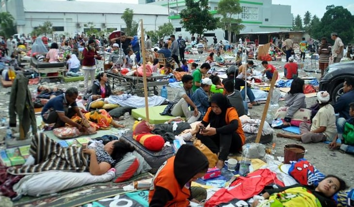 indonesia tsunami today photo