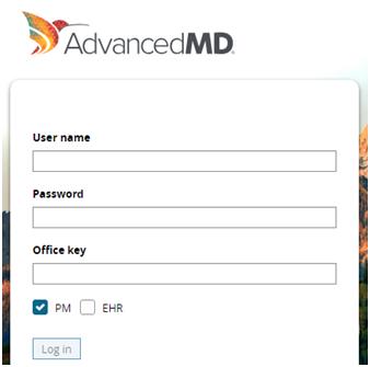 AdvancedMD Login