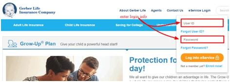 Gerber Life Insurance Login My Account