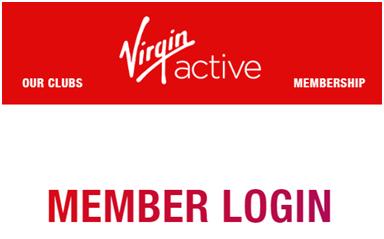 My Virgin Active Account Login