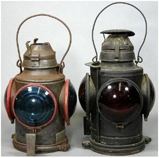 Adlake Railroad Lanterns
