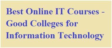 Best Online IT Courses