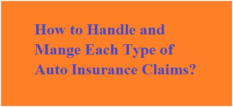 Filing an auto insurance claim