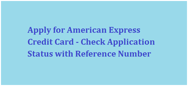 American Express Online Application Form