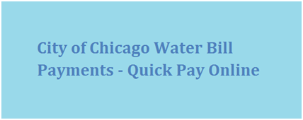 City of Chicago Water Bill Payments