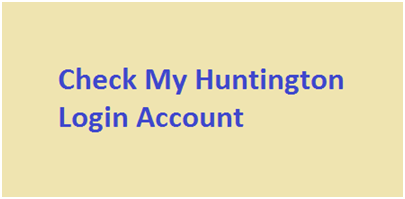 Huntington Online Banking Account
