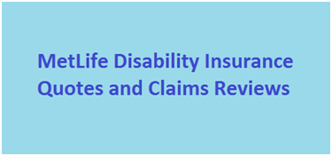 MetLife Disability Insurance Quotes