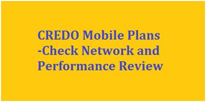 CREDO Mobile Plans