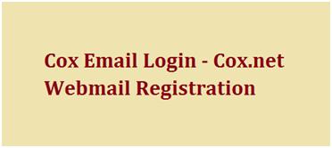 Cox Email Login