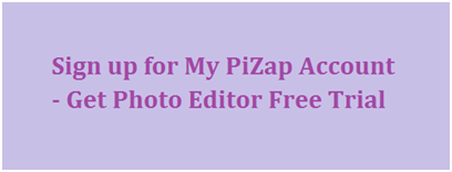 Sign up for My PiZap Account