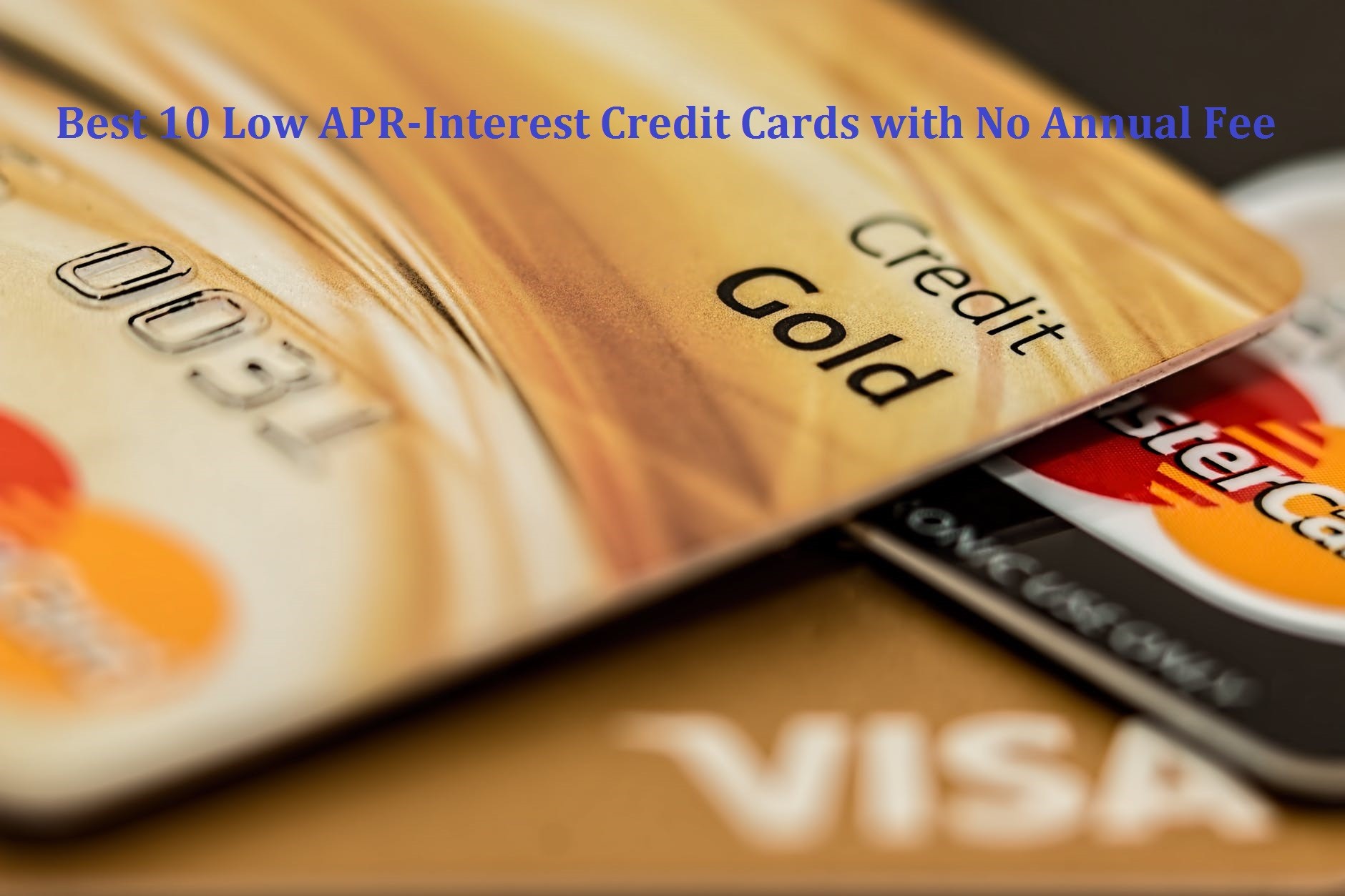 low apr credit card offers
