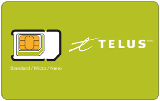 TELUS Mobility SIM Card Activation