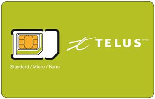 TELUS Mobility SIM Card Activation