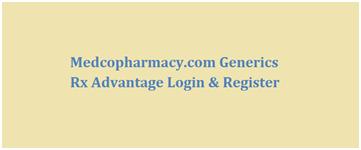 Medcopharmacy-com login
